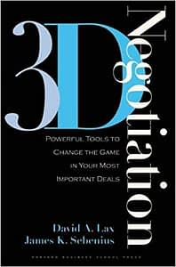 3D Negotiation - David A. Lax & James K. Sebenius