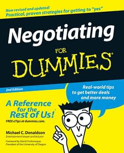 Negotiating For Dummies - Michael C. Donaldson