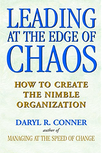Leading At The Edge Of Chaos - Daryl R. Conner